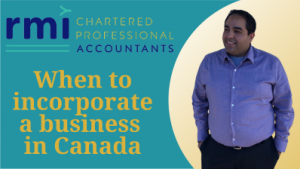 Read more about the article When to incorporate a business in Canada