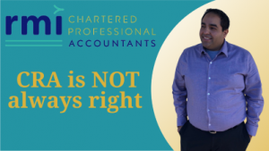 Read more about the article CRA is not always right