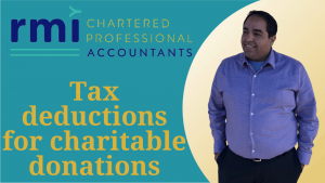 Read more about the article Tax deductions for charitable donations