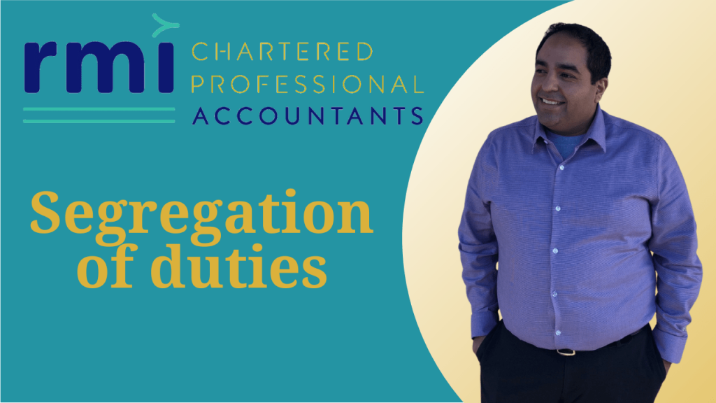 Accounting internal controls